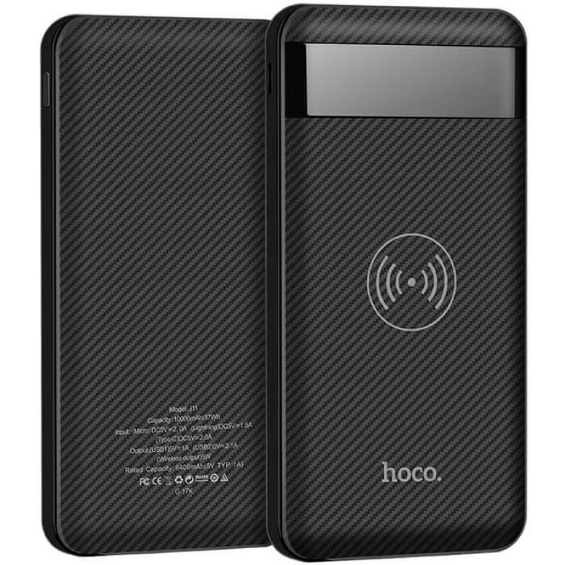 Портативное зарядное устройство HOCO J11 10000 мАh