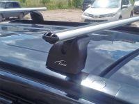 Багажник на крышу Suzuki Grand Vitara, Lux, аэродинамические дуги (53 мм)