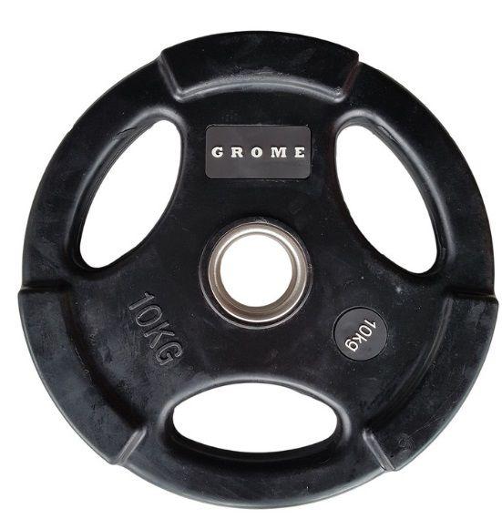 Диск GROME WP074 BLACK-10 кг