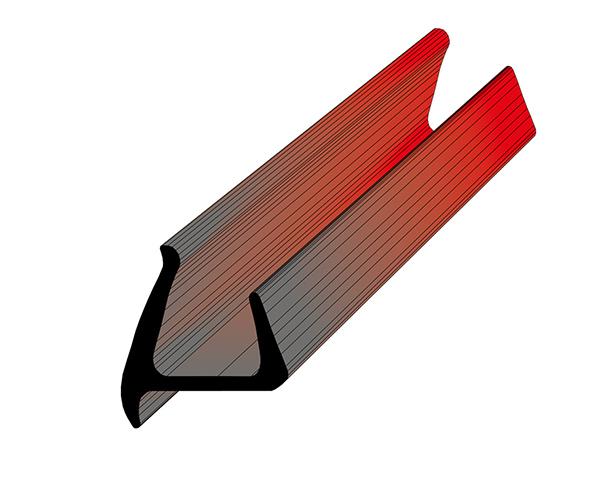 Профиль уплотнительный L=2.6 м/п ширина 30 мм