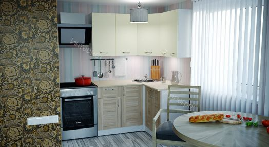 """Кухонный гарнитур """"Камилла Прайм"""" 1200*1400 мм"""