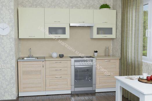 """Кухонный гарнитур """"Камилла Базис"""" 2400 мм"""