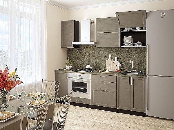 Кухня Сканди-01 Cappuccino Wood