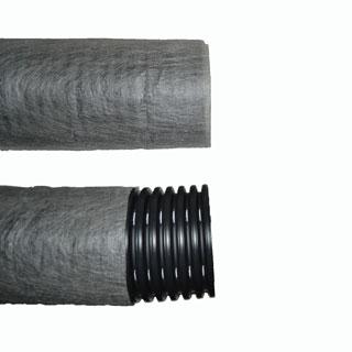 Двухслойные дренажные трубы ПНД d200 с перфорацией в фильтре (40м)