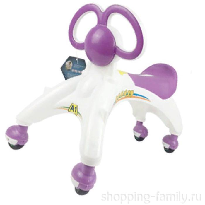 Беговел-каталка для малышей, Цвет Фиолетовый