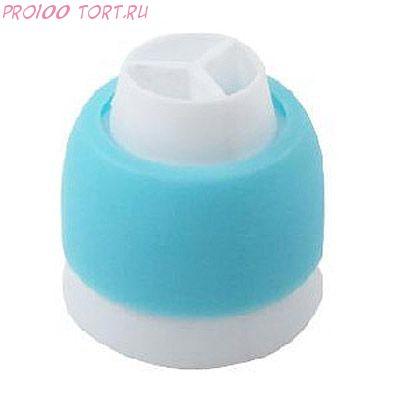 Переходник для 3х цветов крема, пластик
