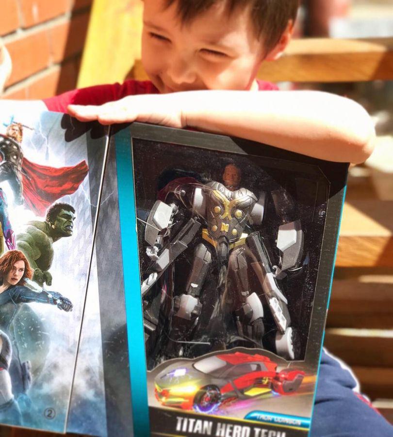Трансформер Супергерой