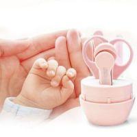 Детский маникюрный набор в футляре Beideli, 4 предмета, цвет розовый (1)