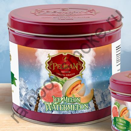 Pelikan 1 кг - Ice Melon Watermelon (Дыня, Арбуз со Льдом)