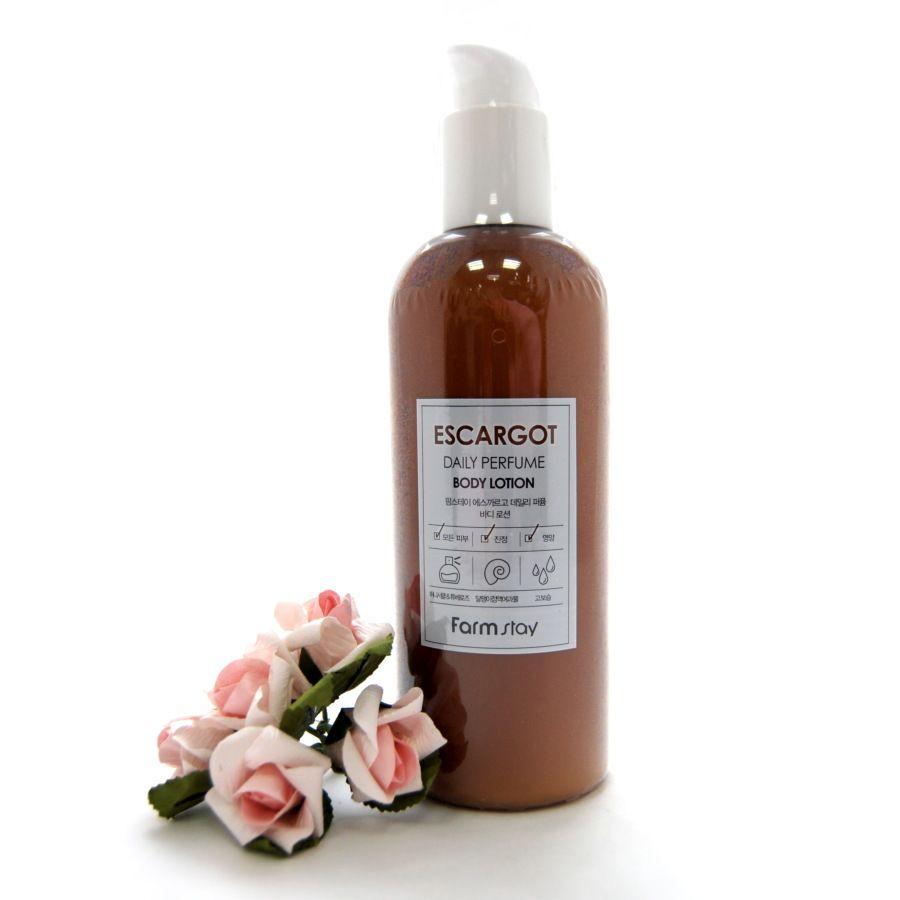 Парфюмированный лосьон для тела с улиткой FarmStay Escargot Daily Perfume Body Lotion , 330 мл