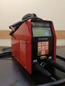 Аппарат для сварки электросварных фитингов, WEF-3500i инверторный, легкий - вес всего 5 кг. (сварочник, сварочный, электромуфтовый, электрофузионный аппарат для э/с эс э.с. электрофузионных фитингов)