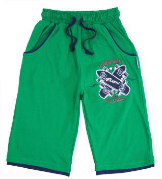 Бриджи для мальчика 8-12 лет Bonito зеленые