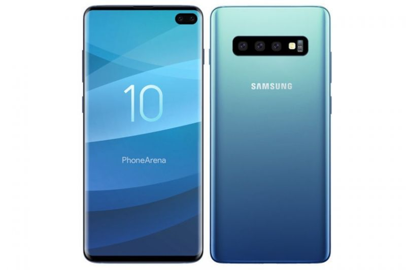 Samsung Galaxy S10 Plus 8/128GB Prism Blue