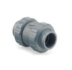 Обратный клапан пружинный d50 уплотнение EPDM