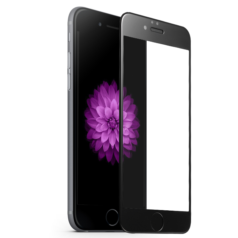 Защитное стекло iPhone 6/6s 9D (полноразмерное)