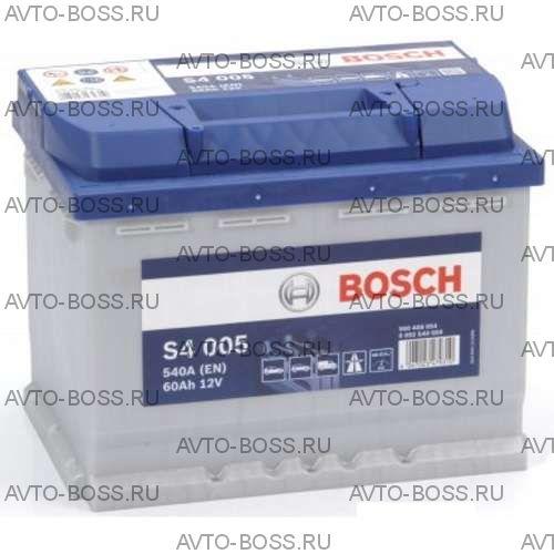 Автомобильный аккумулятор 0092S40050 BOSCH (S4 005) 60 a/h обр 560408054 L2 60 Ач