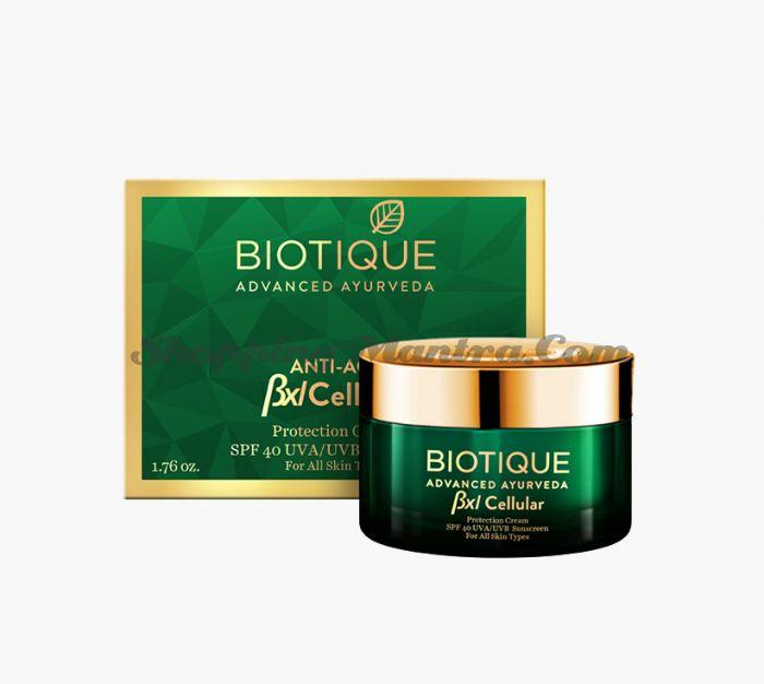 Антивозрастной защитный крем для лица Биотик Адвансед | BXL Cellular Protection Cream SPF 40