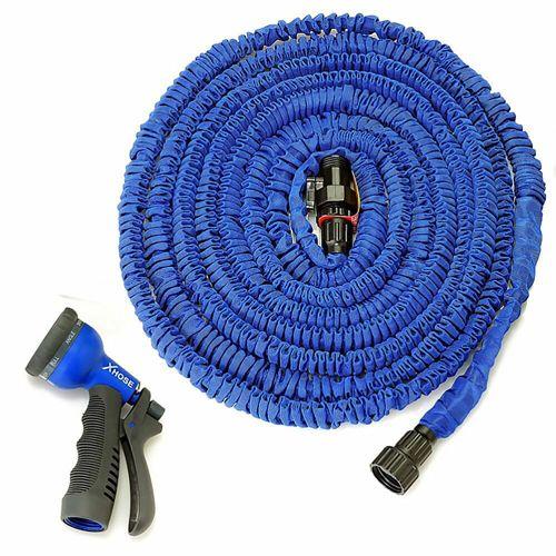 Поливочный шланг Xhose (Икс Хоуз)   45 м, синий.