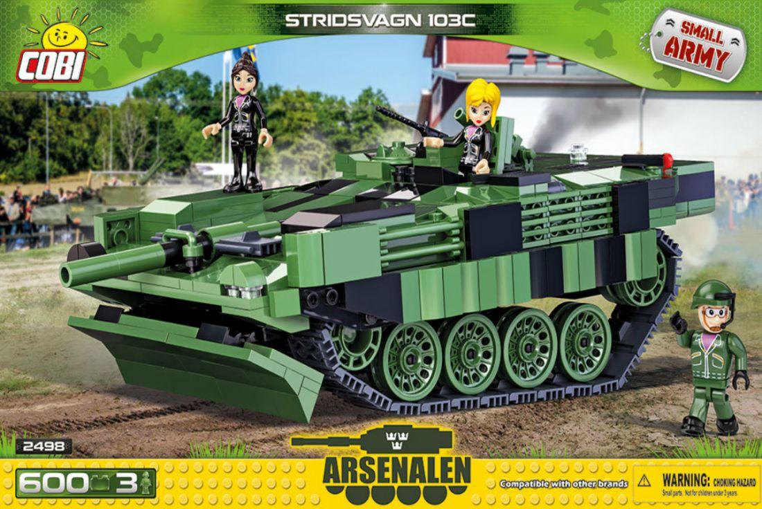 Конструктор COBI Шведский танк Stridsvagn 103C COBI-2498