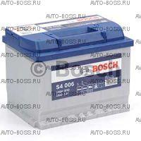 Автомобильный аккумулятор 0092S40060 BOSCH (S4 006) 60 a/h прям 560127054 L2 60 Ач
