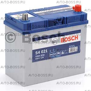 Автомобильный аккумулятор 0092S40210 BOSCH (S4 021) 45 a/h обр 545156033 B24 45 Ач