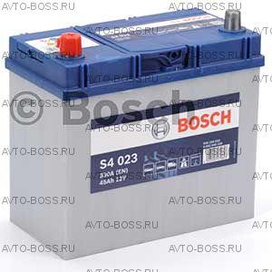 Автомобильный аккумулятор 0092S40230 BOSCH (S4 023) 45 a/h прям 545158033 B24 45 Ач