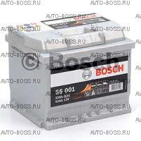 Автомобильный аккумулятор 0092S50010 Bosch S5001 (S5 001) 52 a/h обр 552401052 52 Ач