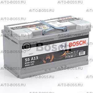 Автомобильный аккумулятор 0092S5A130 BOSCH (S5 A13) 95 a/h обр AGM 595901085 L5 95 Ач