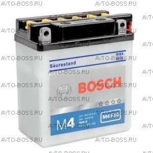 Аккумулятор мотоциклетный (мото) BOSCH MOBA 3a/h (M4 F16) 0092M4F160 12V Y6 (YB3L-B) (YB3L-B) 3 Ач