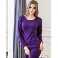 Женское термобелье с велюровой подкладкой, фиолетовый (3)