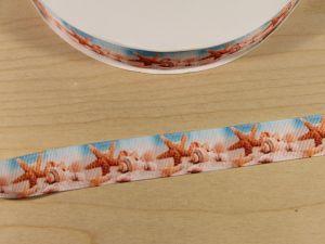 `Лента репсовая с рисунком, ширина 25 мм, Арт. Р-ЛР5769