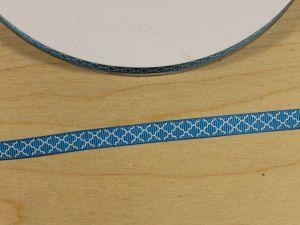 `Лента репсовая с рисунком, ширина 9 мм, Арт. Р-ЛР5814-2