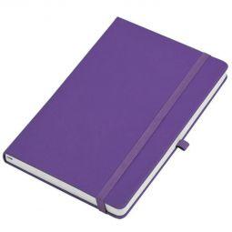 бизнес блокнот Justy фиолетовый