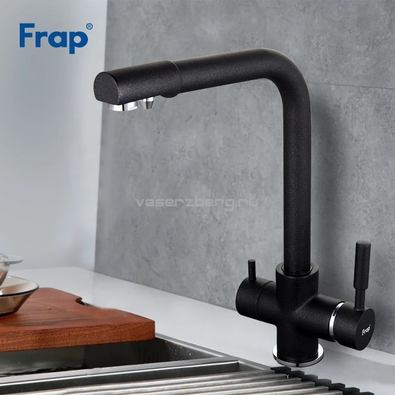 Frap F4352-7 Смеситель для кухни со встроенным фильтром