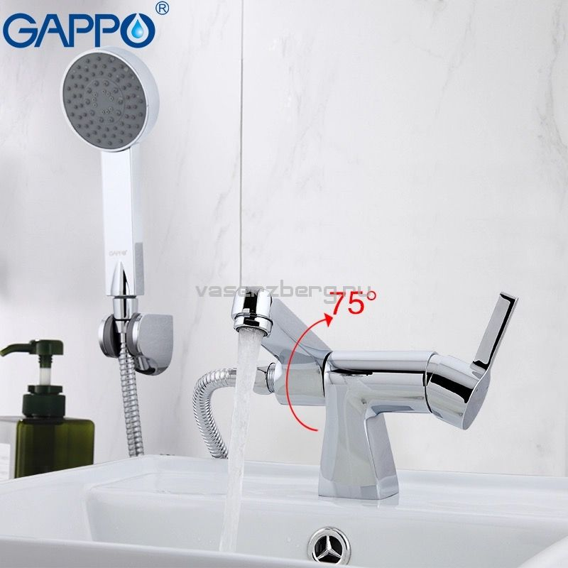Gappo G1204 Chanel Смеситель для раковины