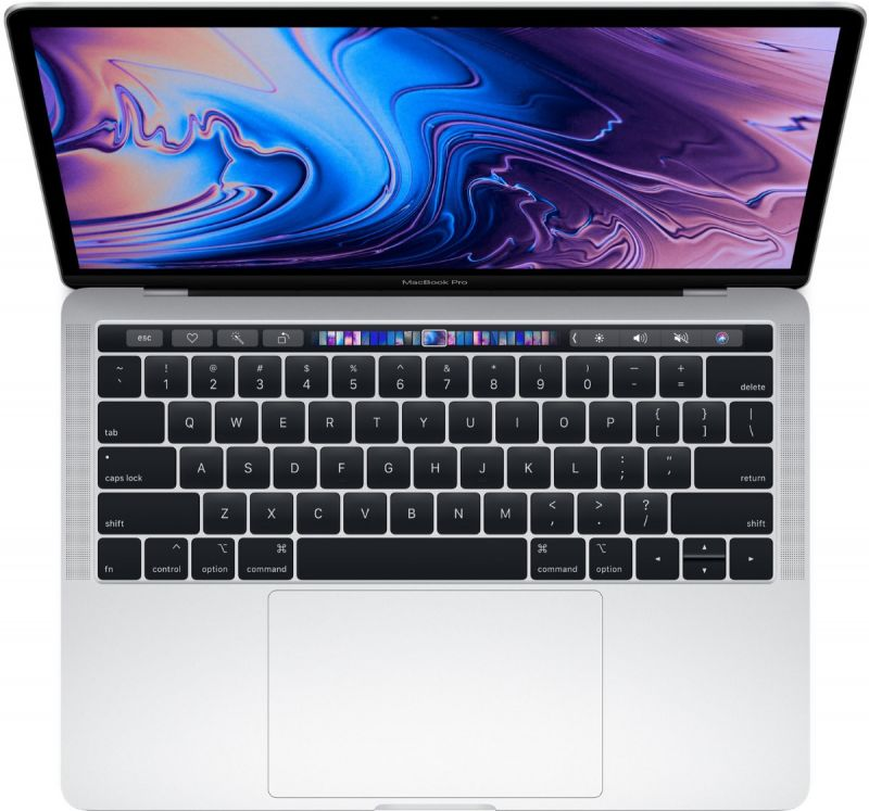 Apple MacBook Pro 13 (2018) 512Gb Silver (MR9V2)