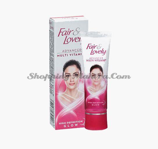 Fair&Lovely Мультивитаминный выравнивающий крем для лица | Fair&Lovely Advanced Multi Vitamin Face Cream