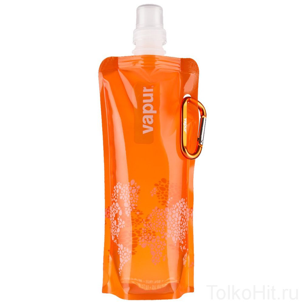 Складная бутылка для воды  VAPUR Оранжевый