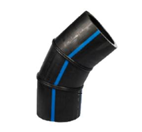 Отвод сварной 315 90˚ ПЭ 100 SDR 11 3-сегмента