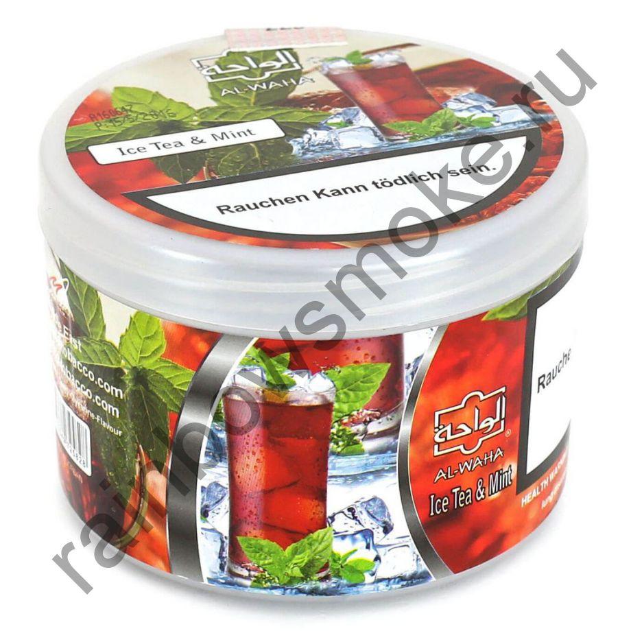 Al Waha 250 гр - Ice Tea & Mint (Ледяной Чай и Мята)