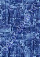 Бумага для декупажа DECOPATCH в блистере (3 листа 30*40)/ /Джинсовка (арт. C-FDA 3810)