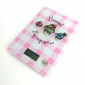 Кухонные весы Touch Screen Kitchen Scale LBS-6032, до 5 кг, Цвет Розовый