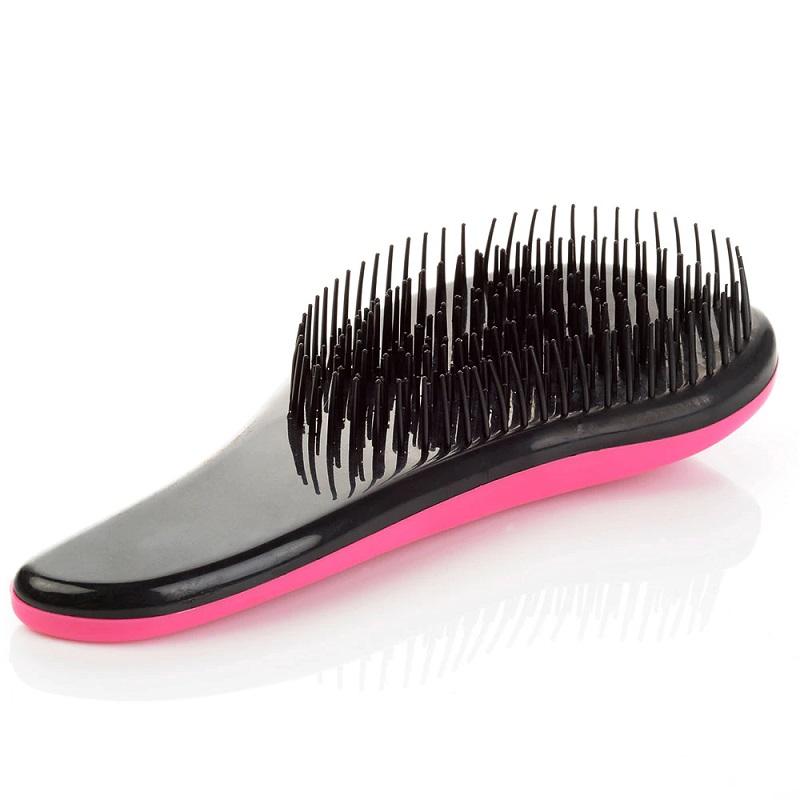 Щётка Для Распутывания Волос Detangler, 15 См, Цвет Розовый