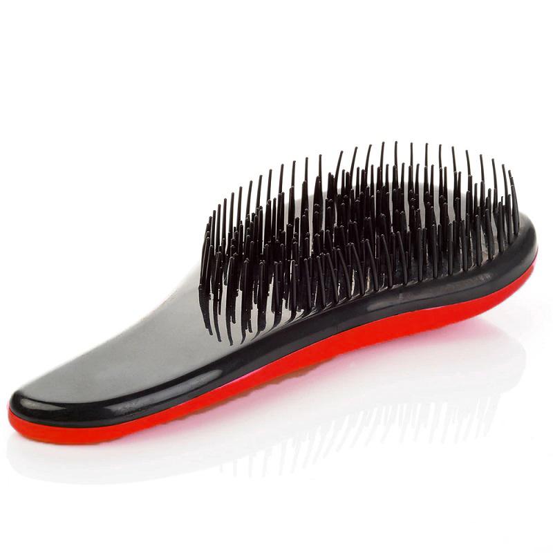 Щётка для распутывания волос Detangler, 18.5 см, цвет красный