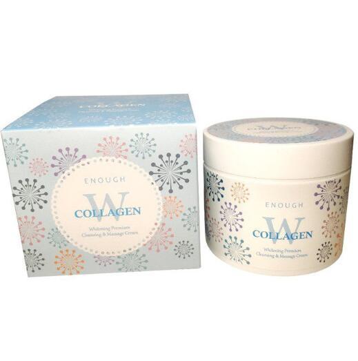 Крем массажный осветляющий ENOUGH W Collagen whitening premium Cleansing & Massage Cream 300гр