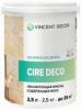 Лессирующая Краска Полупрозрачная Vincent Decor Cire Deco 1л с Воском для Декора / Винсент Декор Сир Деко