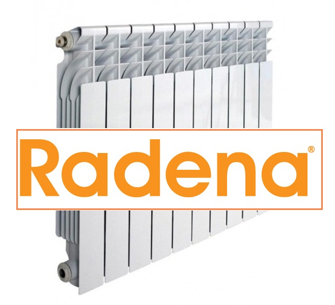 Радиатор алюминиевый RADENA 350/80 7 секции