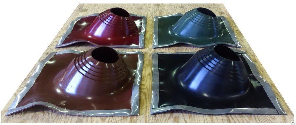 Манжета кровельная ПРОФИ №2 203-280 мм силикон (коричневый, красный, зеленый, черный)