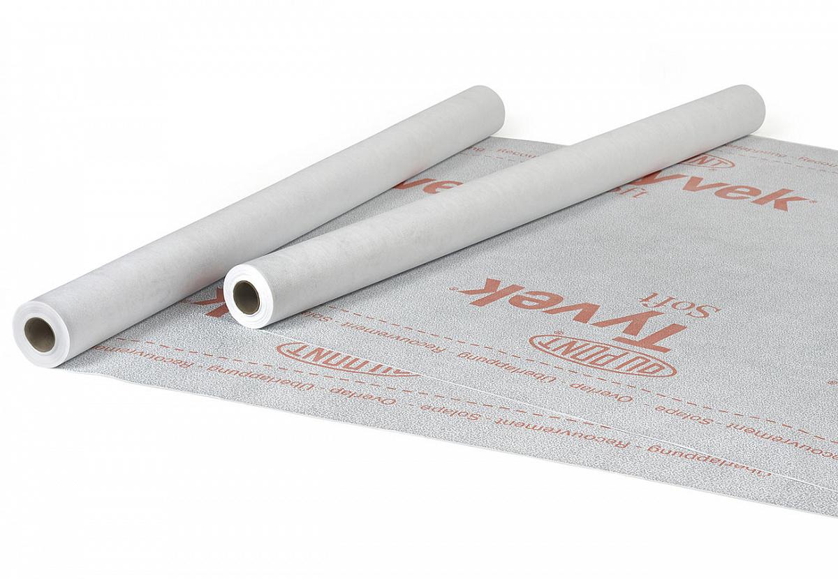 Пленка гидроизоляционная Tyvek Soft  (1.5*50 м)