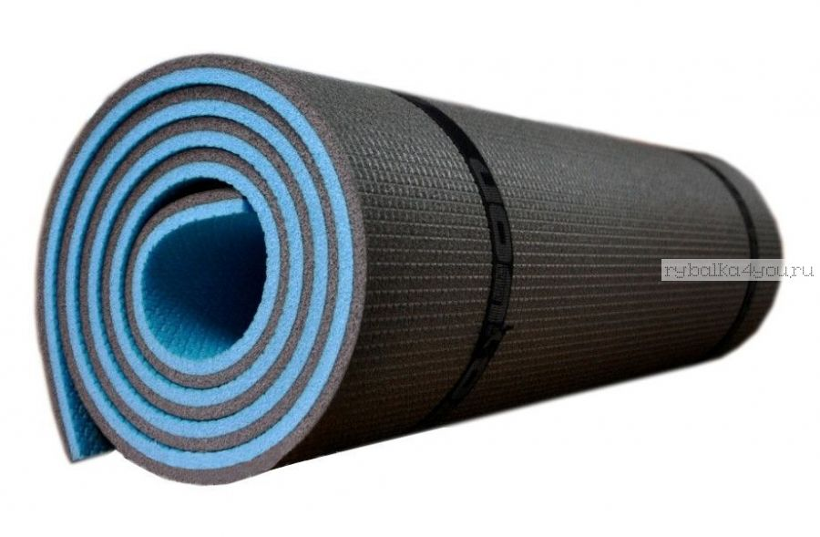 Коврик Изолон Optima Light 10мм (180*60 см) двухслойный, серо-синий (Артикул: IOL-10B )